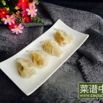 粉丝白菜肉饺子