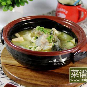 海参斑鱼汤