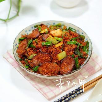 鲊广椒炒香肠