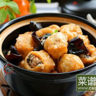 酿豆腐泡#本味家乡菜#
