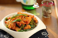 辣白菜炒五花肉 #本味家乡菜#的做法步骤7