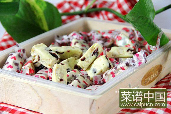 蔓越莓牛轧糖#本味家乡菜#
