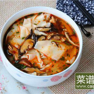 香菇鸡汤面