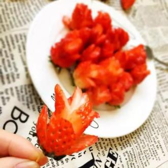蜜汁草莓花