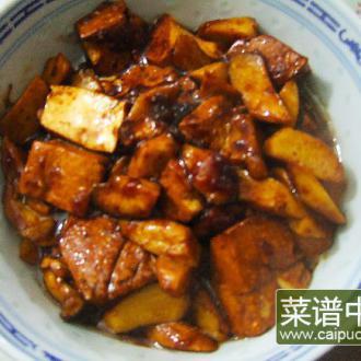 红烧豆腐#本味家乡菜#