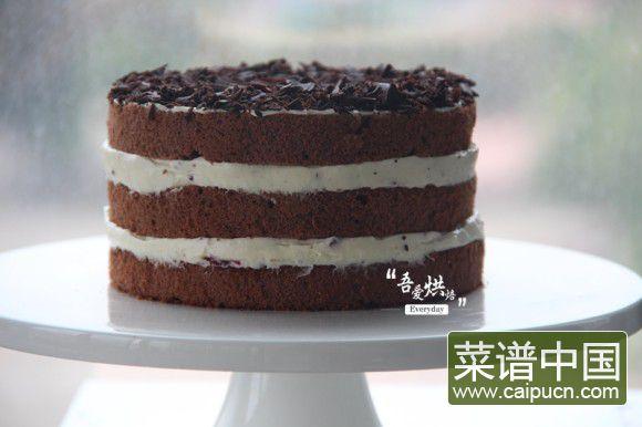 爱可以很简单——浓情黑森林蛋糕