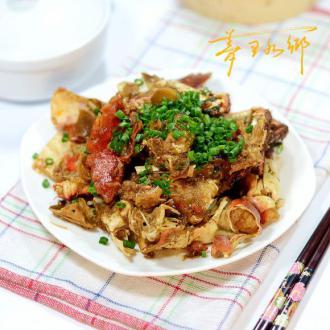 葱姜炒面包蟹