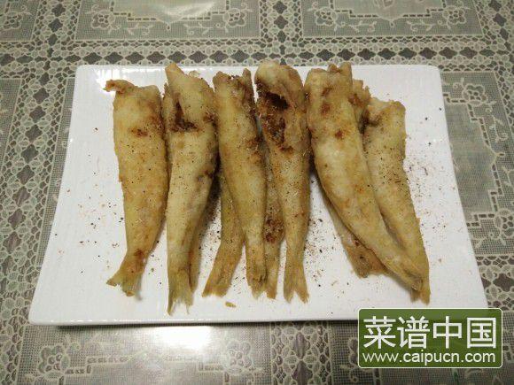 干炸沙丁鱼