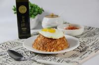 韩式金枪鱼辣白菜炒饭的做法步骤8