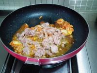 韩式金枪鱼辣白菜炒饭的做法步骤5