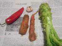 胡萝卜拌莴苣的做法步骤1