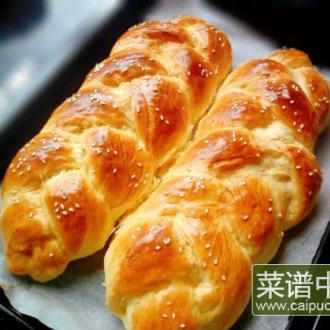 炼奶辫子面包