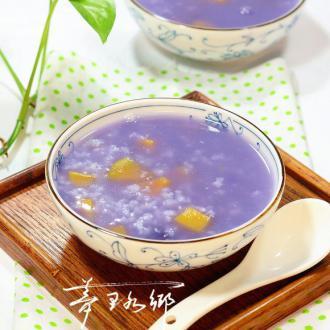 红薯紫薯粥