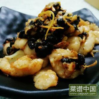 豆豉炒鱼块