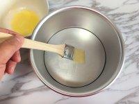 面包机版黄桃面包派的做法步骤6