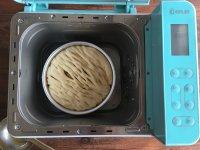 面包机版黄桃面包派的做法步骤15