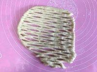 面包机版黄桃面包派的做法步骤11