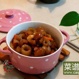 沙茶酱焖猪皮