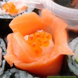 寿司玫瑰花