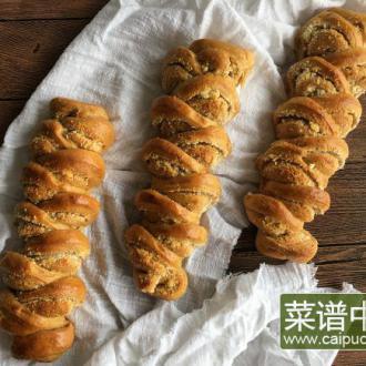 麦穗椰蓉面包