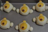 小鸡吉祥面包的做法步骤9