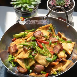 干锅腊肉千页豆腐