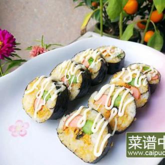 芦笋肉松寿司