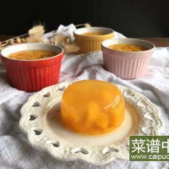 芒果水晶果冻