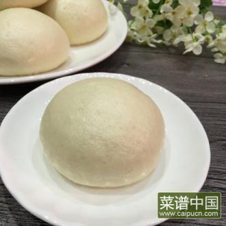 面包机版馒头(两次发