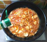 辣白菜杂锅的做法步骤11