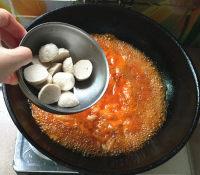 辣白菜杂锅的做法步骤7
