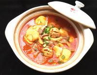 辣白菜杂锅的做法步骤15