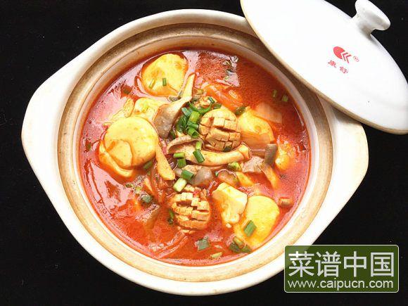 辣白菜杂锅