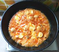 辣白菜杂锅的做法步骤13