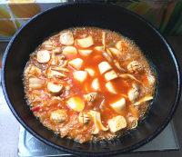 辣白菜杂锅的做法步骤9