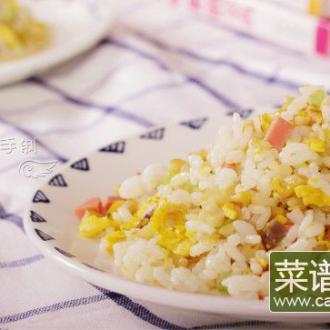 萝卜干炒饭