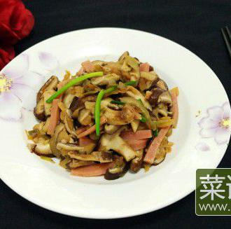 香菇榨菜丝