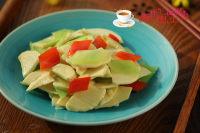 莴苣炒笋片的做法步骤7