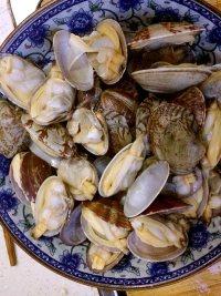 炒花蛤的做法步骤4