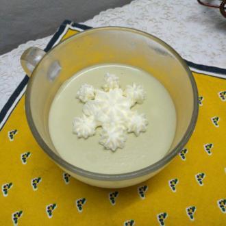 意式抹茶奶冻
