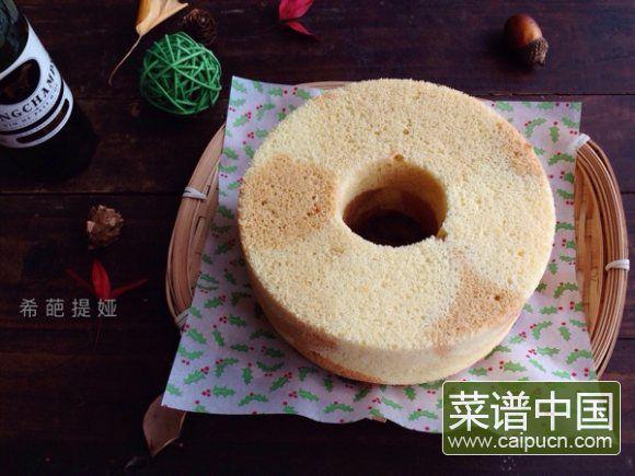 花色中空蛋糕