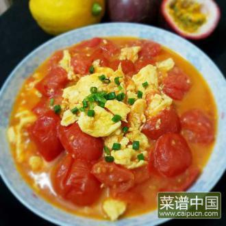 鸡蛋炒蕃茄
