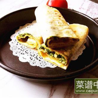 香椿鸡蛋灌饼