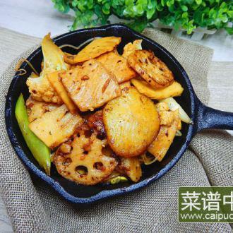 香辣干锅藕