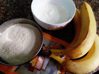 炸香蕉的做法步骤1