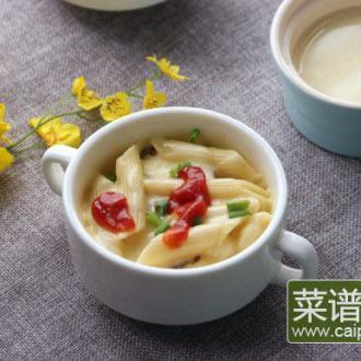 黑椒土豆芝士焗意粉#