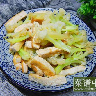 花菜烧豆腐