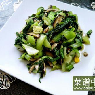 清淡香菇油菜