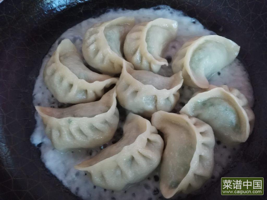 冰花煎饺的做法步骤13