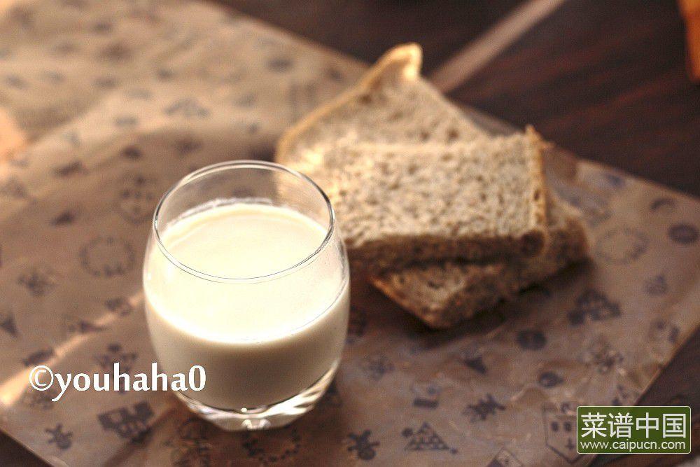 糙米花生豆浆的做法步骤5